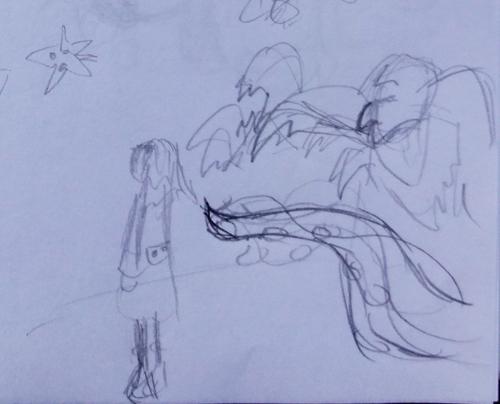 Tentacle Monster Sketch