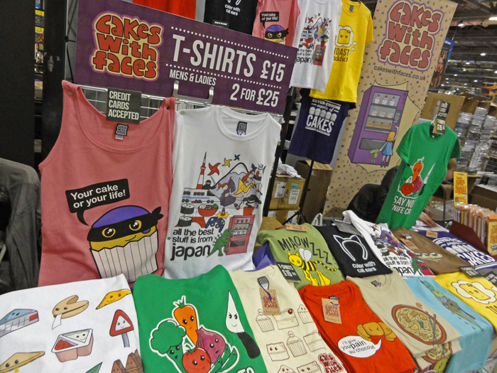 Cakes with Faces T-Shirts MCM London 2013