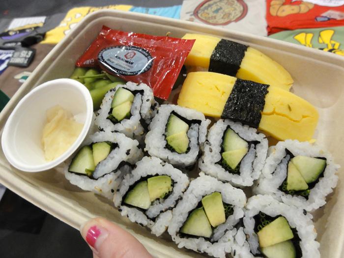Sushi at MCM London 2013