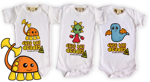 Cute but Deadly Babygrows