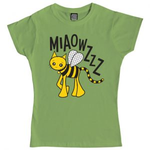 Cute Bee Cat T-Shirt