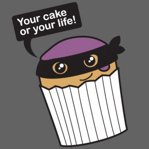 Funny Cake T-Shirts