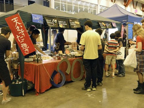 Japanese Food Stalls at Hyper Japan