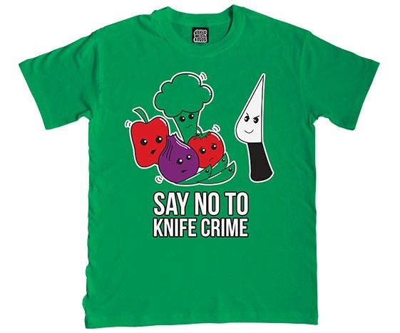 Say No to Knife Crime T-Shirt