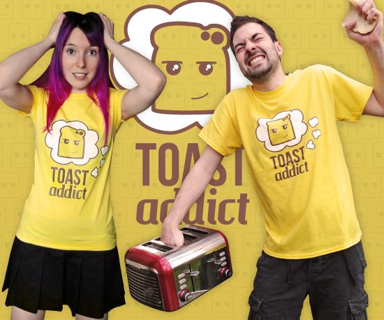 Bright Yellow Toast T-Shirts