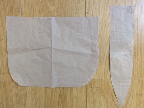 DIY bag sewing pattern