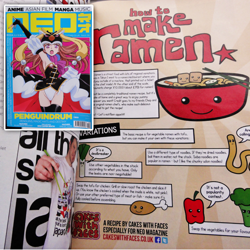 How to Make Ramen Recipe in NEO Magazine