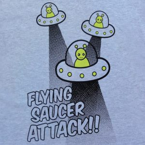 Flying Saucer Attack Shirts