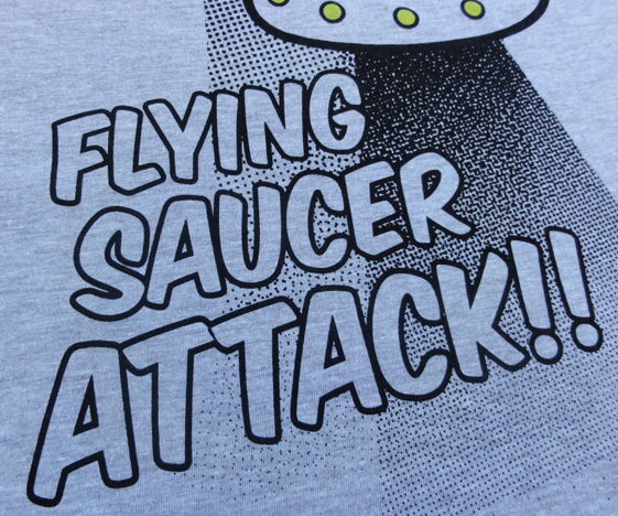 Flying Saucer Attack T-Shirts