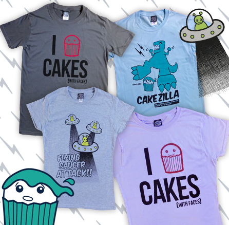 New t-shirts for ladies and men
