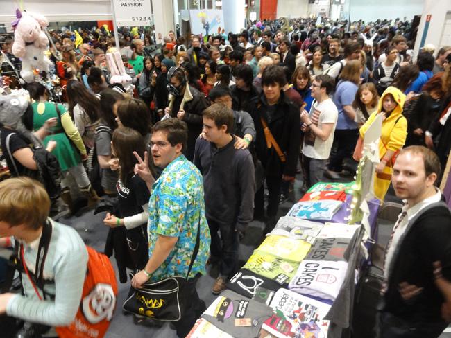 MCM London Comic Con crowds