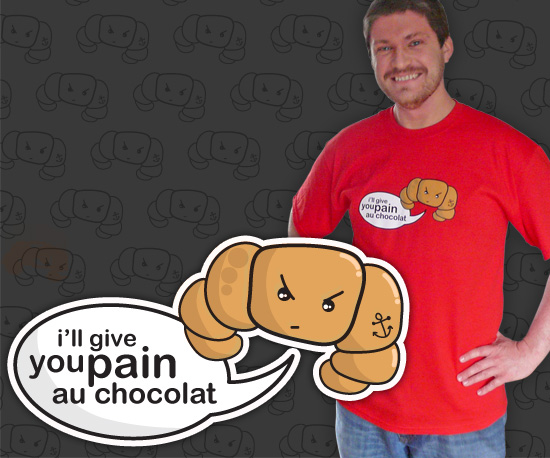 Pain au Chocolat Mens T-Shirt