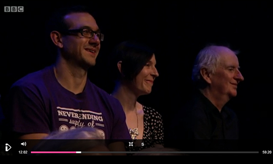 T-Shirt Spotted on BBC2!