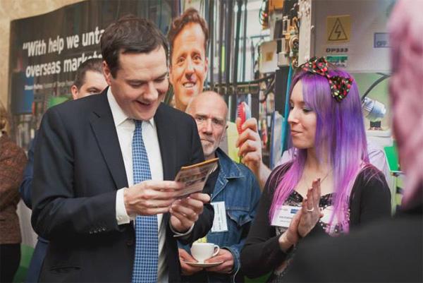 George Osborne, Small Business Saturday