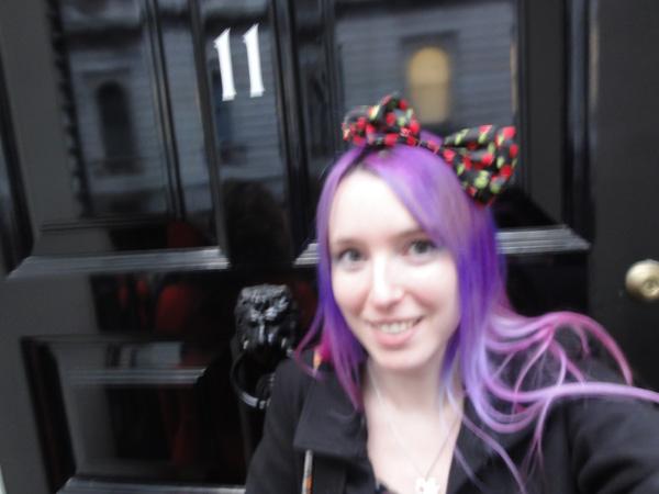 Selfie at Number 11 Downing Street