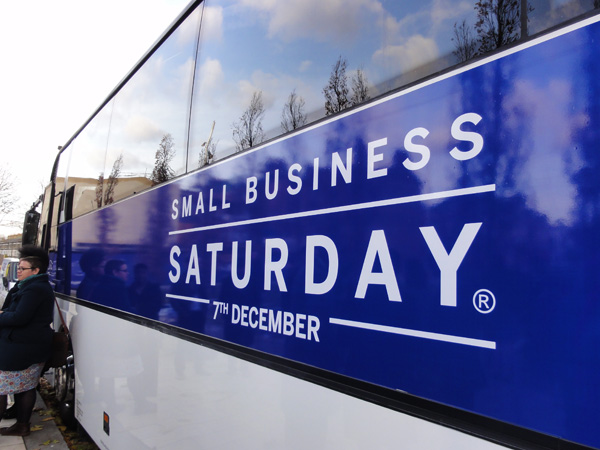 Small Business Saturday bus tour in Brixton