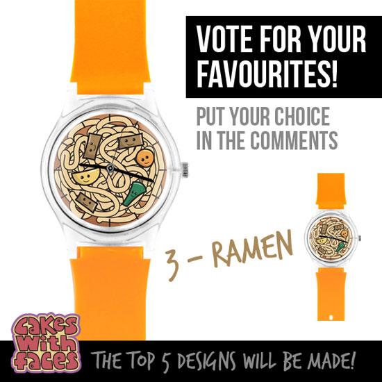 Ramen noodles watch