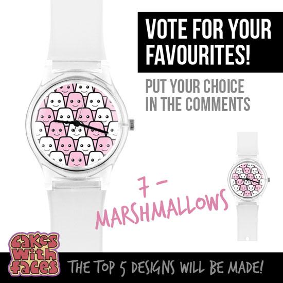 Marshmallows watch