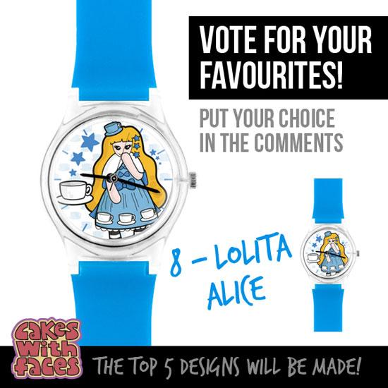 Kawaii Lolita Alice Watch