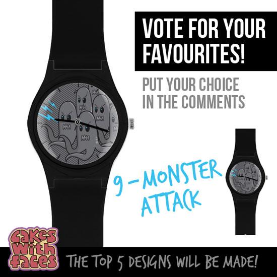 Monster Attack Watch