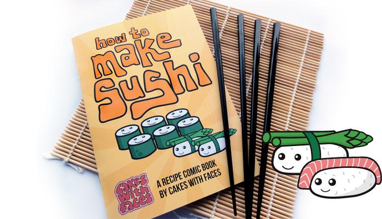 How to Make Sushi Comic
