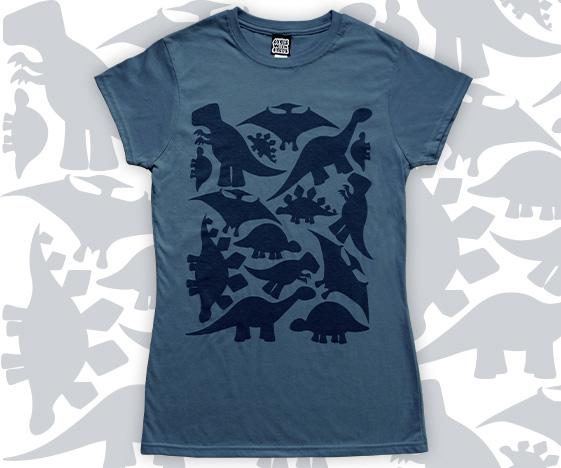 Ladies dinosaur t-shirt