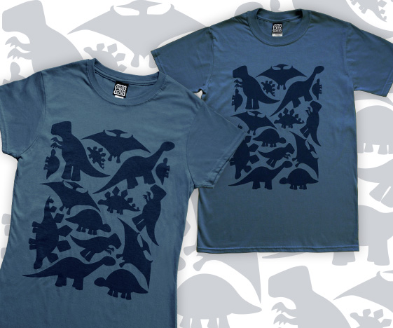Dinosaur t-shirt - for men and ladies