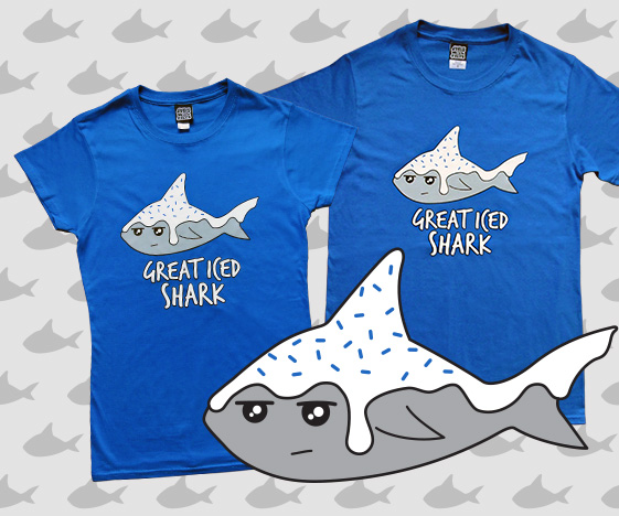 Great Iced Shark T-Shirt
