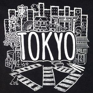 Black Tokyo T-Shirt