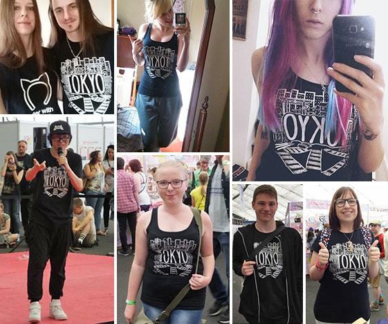 Tokyo T-Shirt Customer Photos