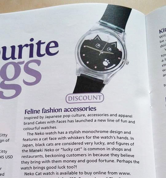 Cat Watch in Cats Protection Magazine
