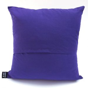 Purple cake cushion back