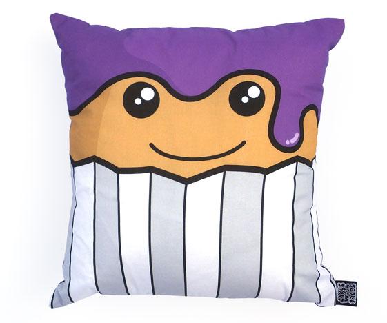 Cake face cushion