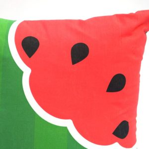 Watermelon fruit cushion