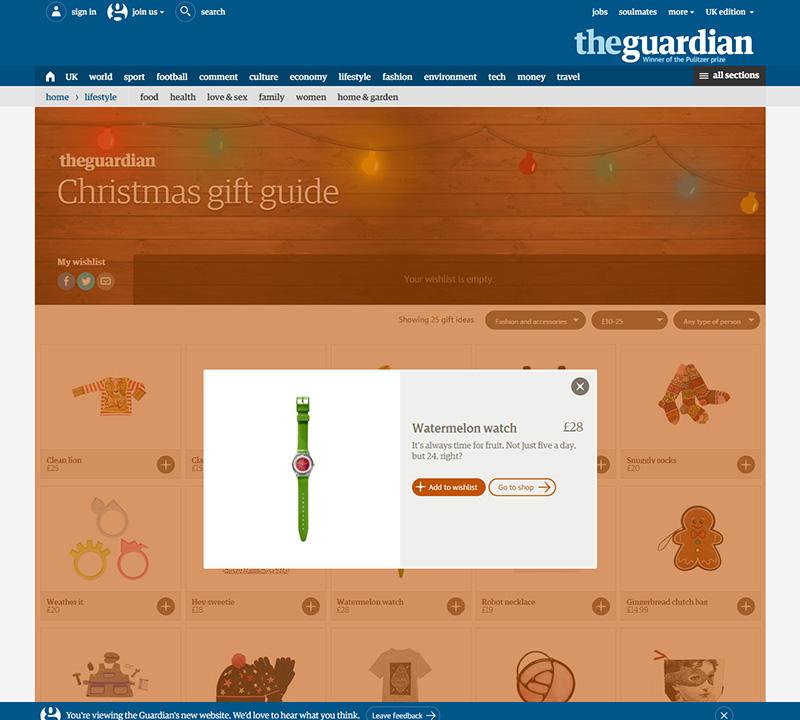 Guardian Christmas Gift Guide - Watermelon Watch