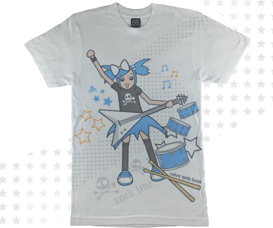 Rock Live music t-shirt