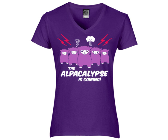 Womens Alpacalypse T-Shirt