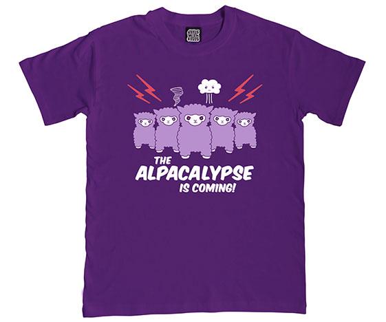 Alpacalypse mens t-shirt