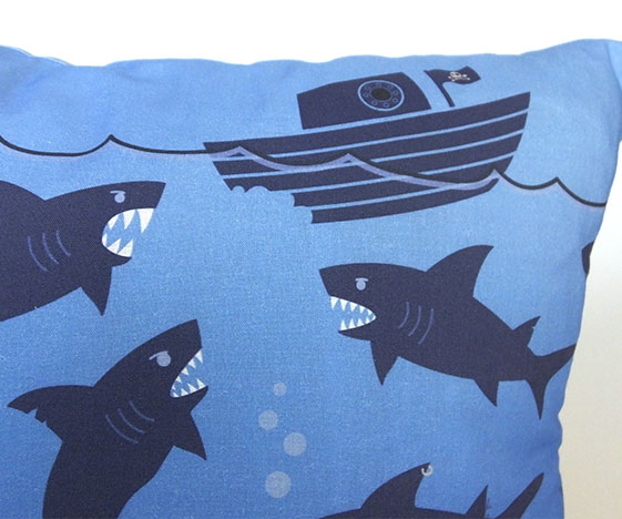 Shark pillow / cushion