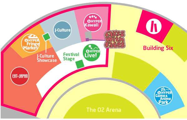 Hyper Japan July 2015 Floorplan