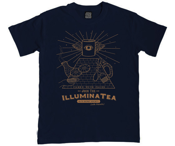 Illuminatea mens illuminati t-shirt