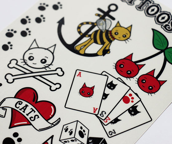 Cattoos temporary cat tattoos