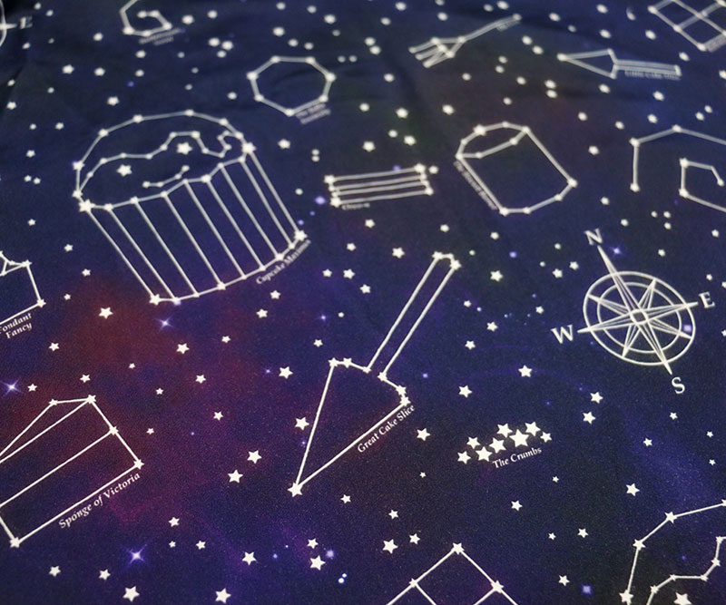 Starry Night Dress Close-up