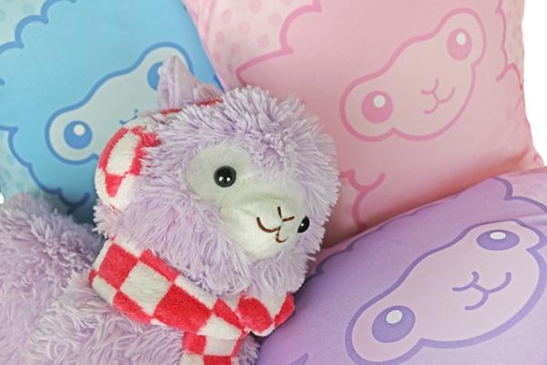 Alpaca cushions