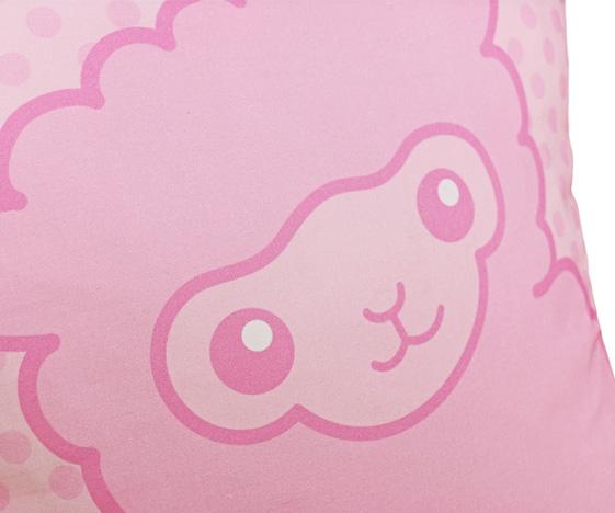 Pink Alpaca Cushion