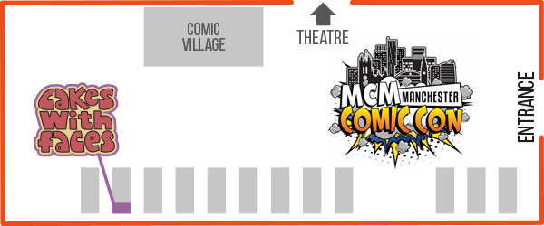 MCM Manchester Comic Con Floor Plan