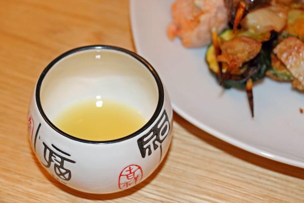 Fresh yuzu juice