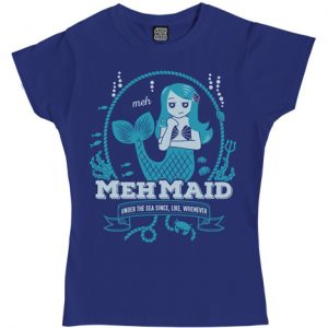 Mehmaid Ladies T-Shirt