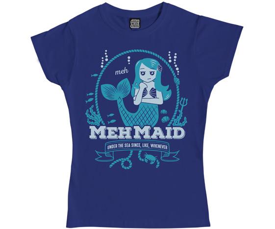 Mehmaid Ladies T-Shirt