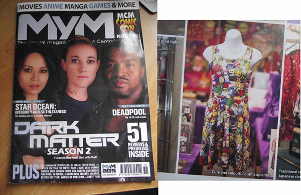 Cute Explosion Skater Dress in MyM Magazine